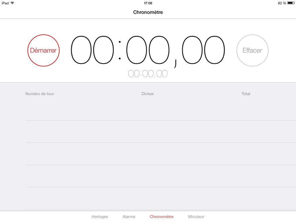 chrono ios7 beta
