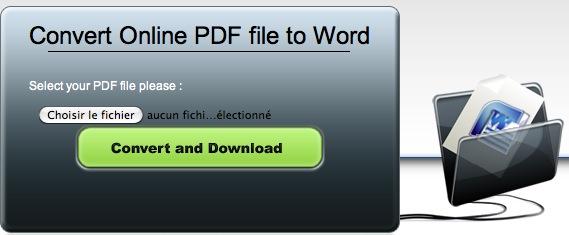 comment convertir un fichier pdf en format word  doc  gratuitement