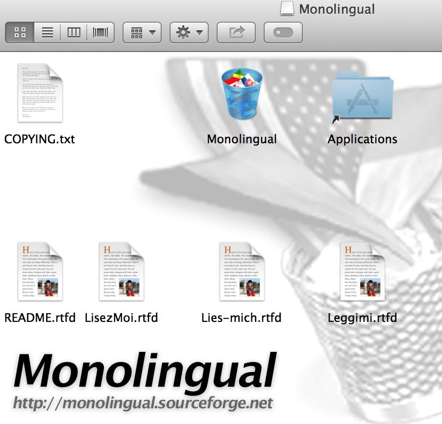 Monolingual-archive