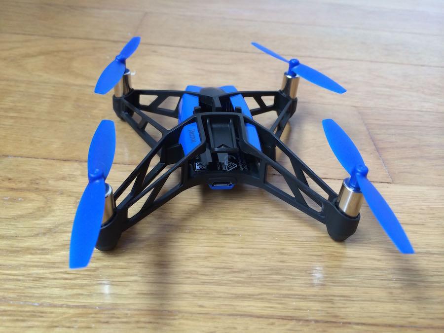 Minidrone-Rolling Spider-arriere