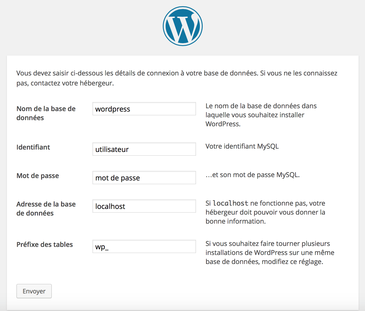 installation-wordpress-4-parametres