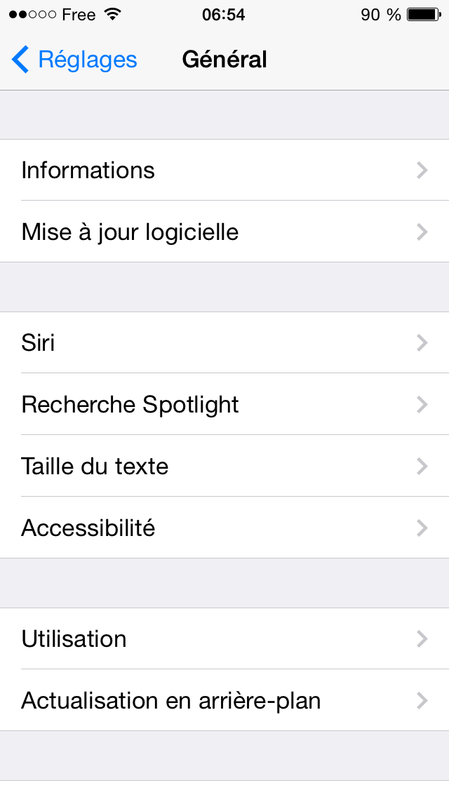 reglages-maj-ios7