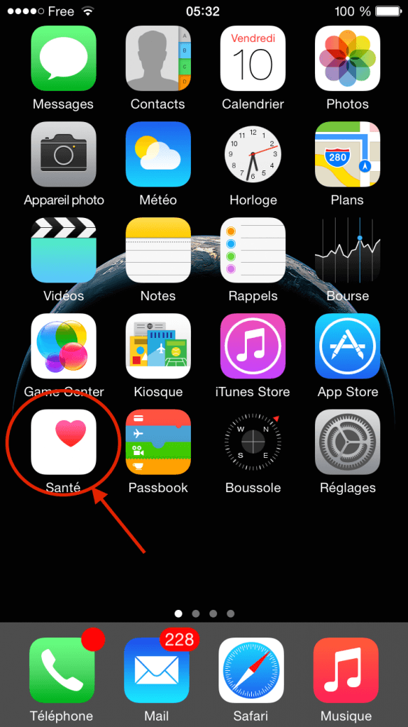 ios8-app-sante