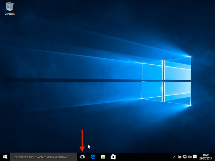 Windows 10 bureau virtuel 1