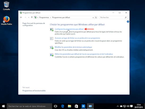 comment changer le navigateur internet par d u00e9faut sur windows 10