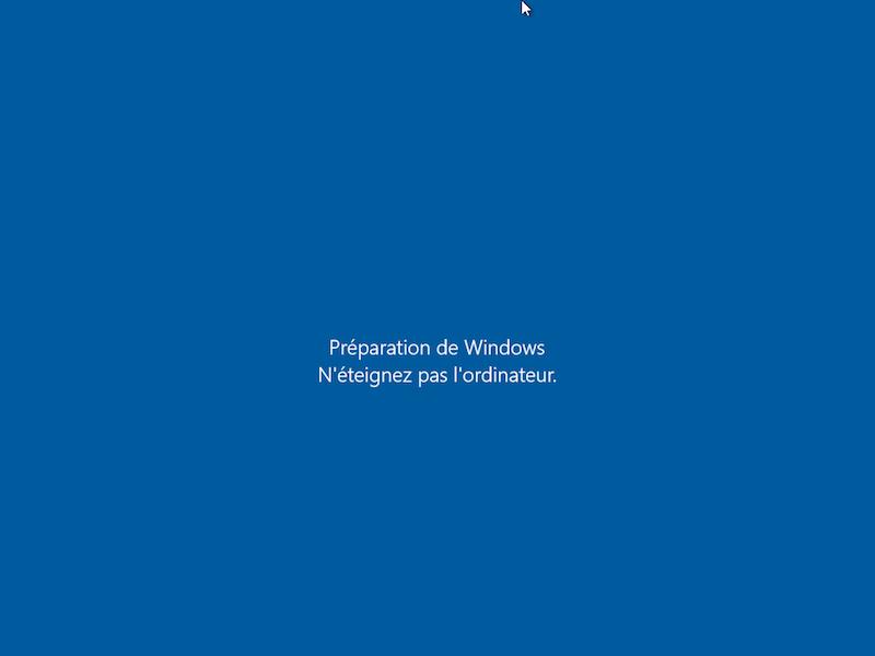 Windows 10 mise à jour 5
