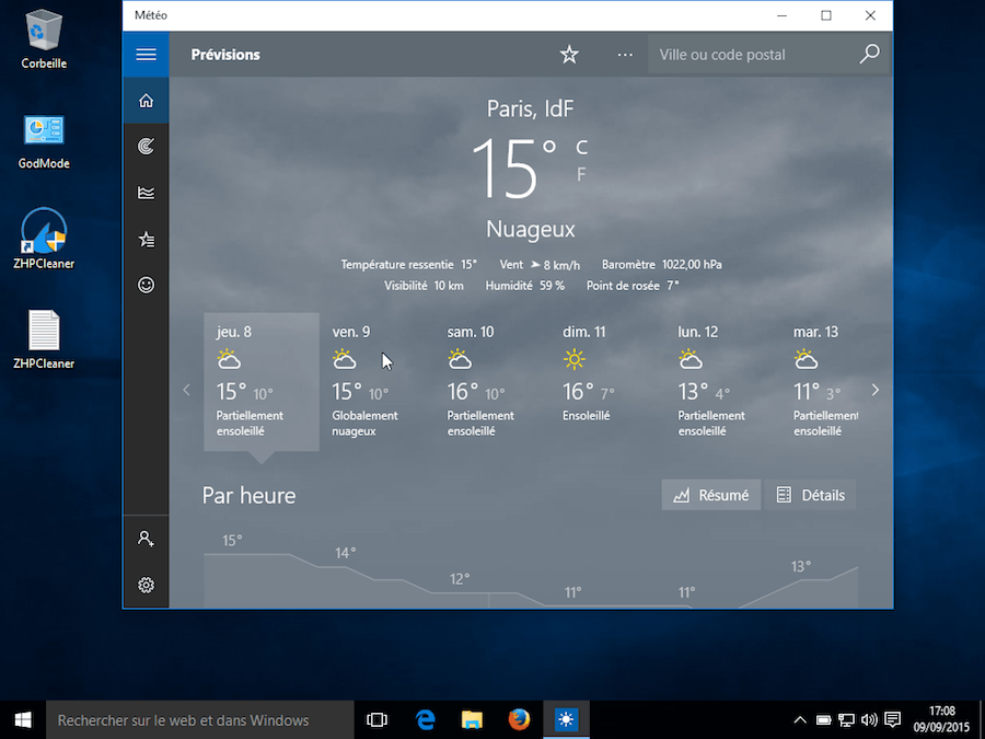 WINDOWS 10 METEOMEDIA TÉLÉCHARGER