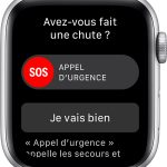 Comment activer la détection de chute sur l'Apple Watch ?