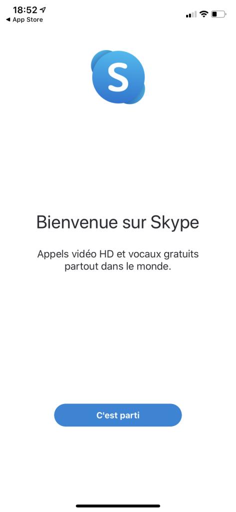 installation Skype 2