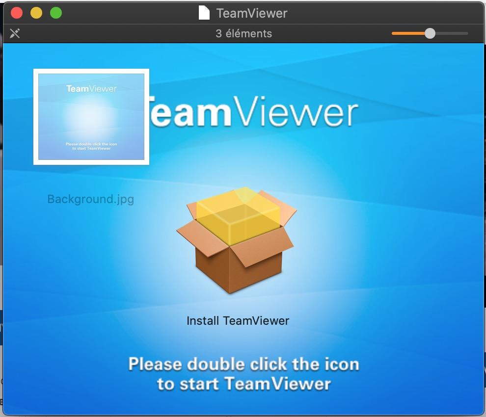 installations Teamviewer mac 1