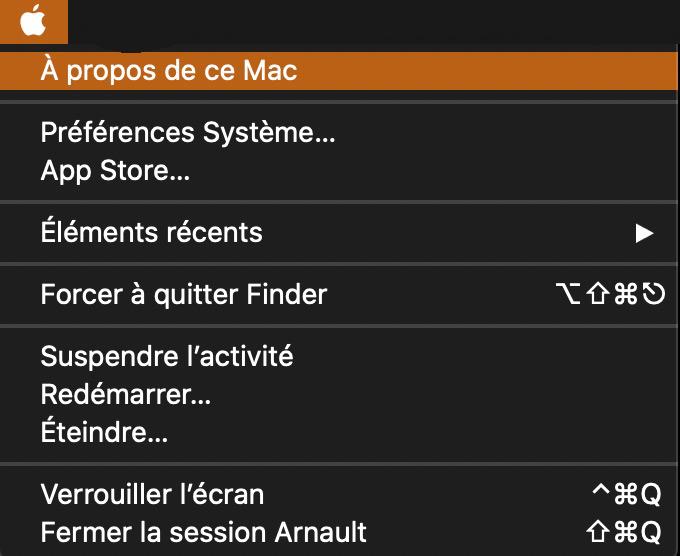 A propos de ce Mac