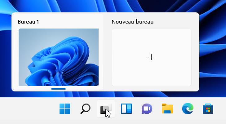 Bureau virtuel Windows 11